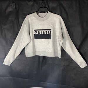 💜NWT ,CALVIN KLEIN, Jeans , Size L , Grey Color ,